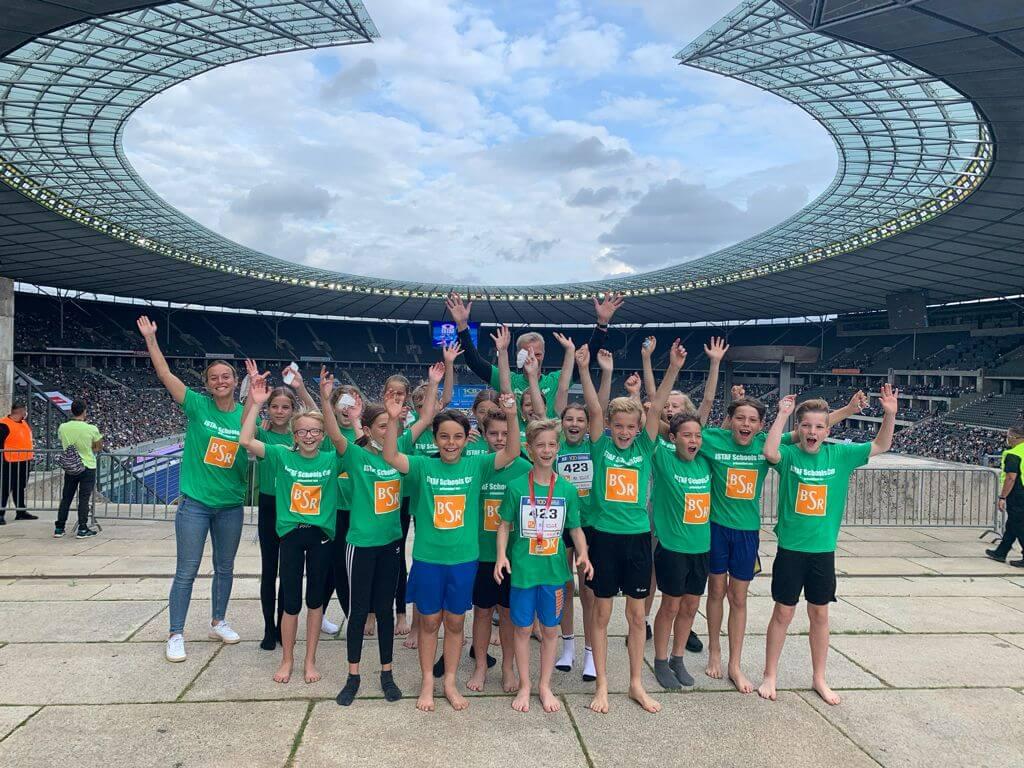 ISTAF-Staffellauf im Olympia-Stadion