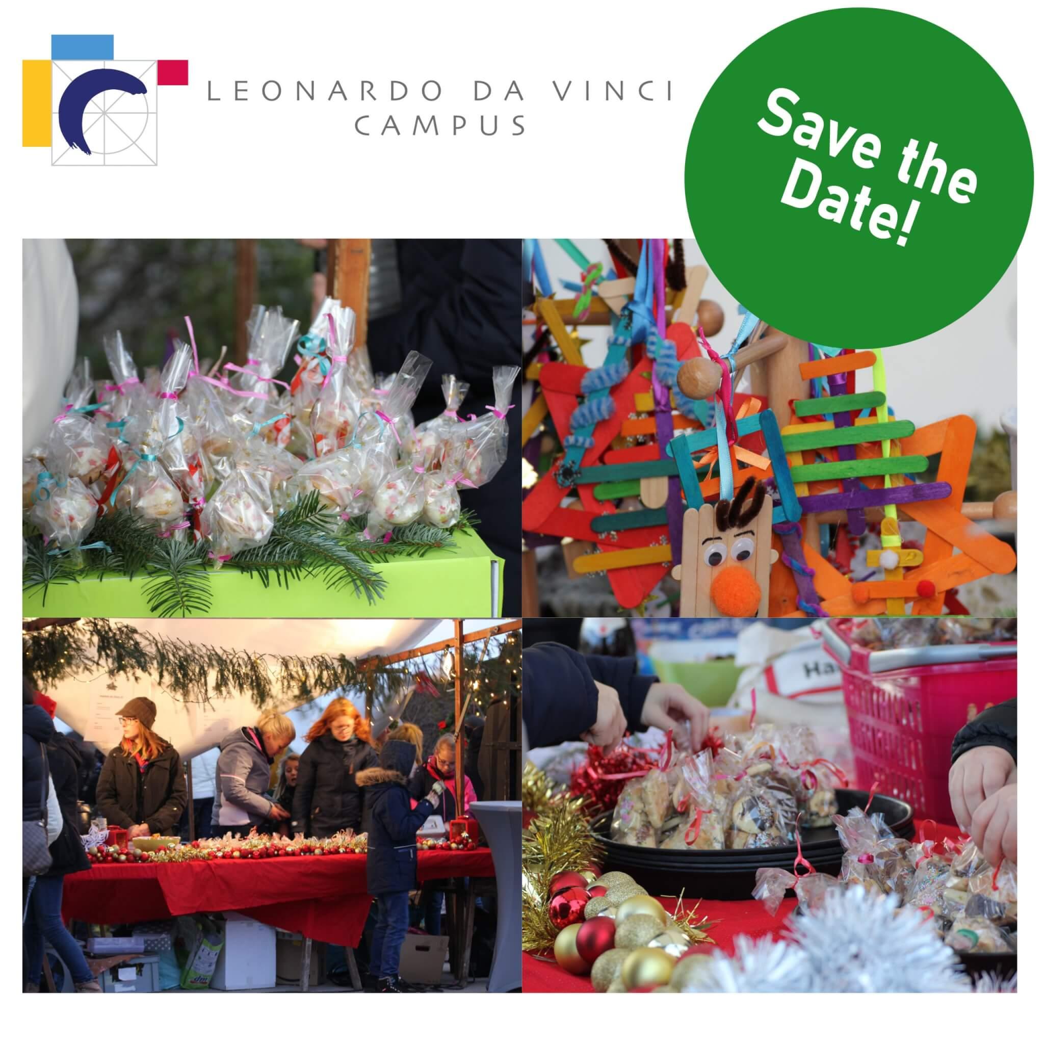 Adventsbasar Einladung Leonardo Da Vinci Campus 25.11.21
